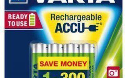 Oplaadbare batterijen heb je nooit genoeg