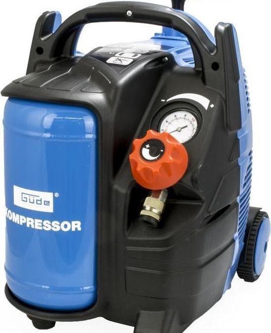Makkelijk opblazen met een compressor!